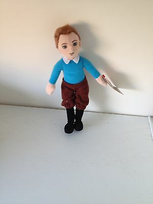 Tintin Ty Beanie Toy With Tag