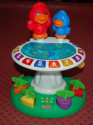 Fisher Price musical bird bath educational activity toy. EUC. Pick up Melbourne