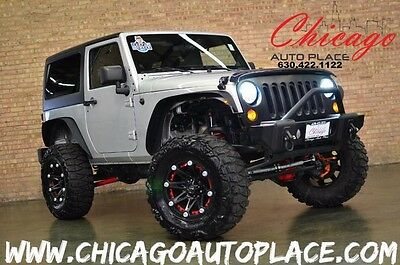 2012 Jeep Wrangler Sport Sport Utility 2-Door Jeep Wrangler Freedom Edition LIFTED ONE OWNER 6SPD MANUAL