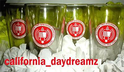 Southern Tier Brewing Lakewood New York Beer Pint Drinking Glasses Set Of 4 New