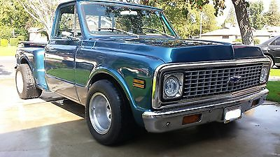 1971 Chevrolet C-10  1971 Chevy C10 Step Side Pickup CLEAN!!!