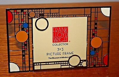 NOS 2007 Frank Lloyd Wright COONLEY PICTURE FRAME 3x3,Museum of Modern Art