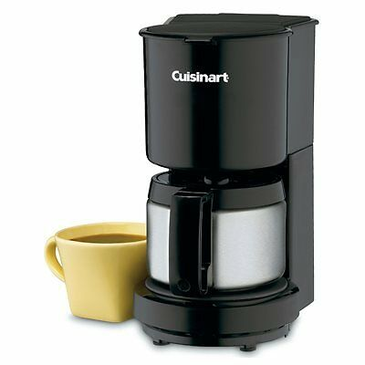 Cuisinart 4-Cup Coffee Maker Black - Black & Stainless