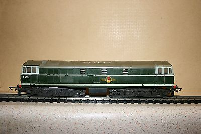 Tri-ang TT-gauge Boxed Green BR Type 2 Brush A1A-A1A Diesel-Electric Locomotive