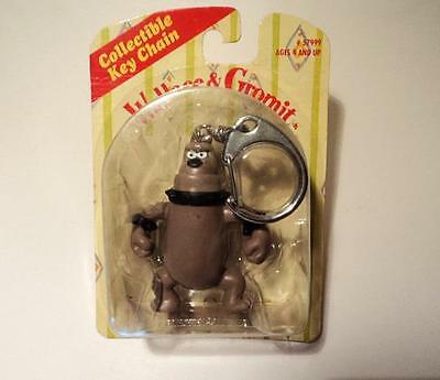 Wallace & Gromit KEYCHAIN PRESTON Dog  Key Chain Unopened NIP