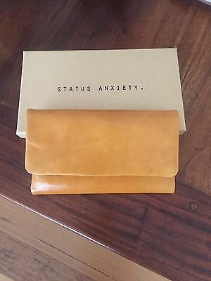 Status Anxiety Tan Leather Women's Wallet (Audrey)