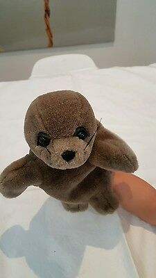 *USED PLUSH SOFT TOY  Stage Hand Puppet
