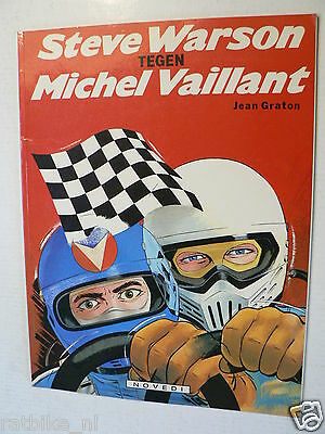 Dutch Comic Michel Vaillant Tegen Steve Warson Novedi 1981