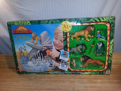 Disney's Lion King Pride Rock Deluxe Playset Rare Retired NIB
