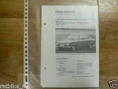 Fo02-Ford  Escort 1100, 1300 Standaard,base,l,xl,coach