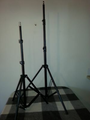 2 Tall Light Stand Tripod for Video Lighting Flash Umb Stand