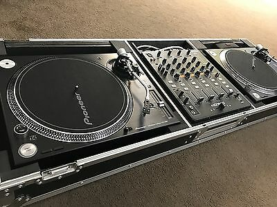 """Odyssey Flight Zone Coffin for 2 x Turntables & 12"""" Mixer"""
