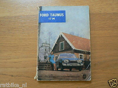 Ford 17M  Instruction Book,Manual,Info,Handbuch