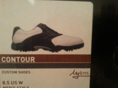 Mens Footjoy brand new golf shoes size8.5 w
