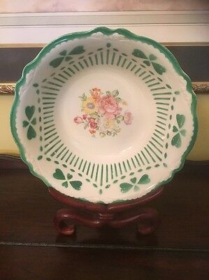 "Homer Laughlin  C 40 N6 Floral Virginia Rose USA 9 1/2"" Medium Fruit Bowl"