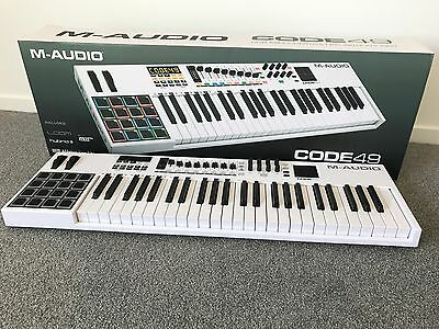 M audio Code 49 USB midi controller With X/Y Pads