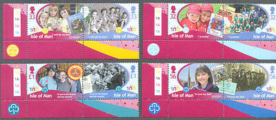 Isle of man-Girl guides 2010 mnh