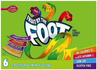 Fruit by the Foot Variety Pack (Strawberry, Color by the Foo