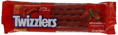 TWIZZLERS Twists (Strawberry, 2.5-Ounce Packets, Pack of 36)