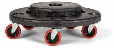 Rubbermaid Commercial FG264043 HDPE Brute Quiet Dolly for Co