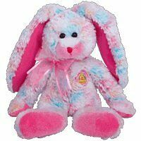 TY Beanie Baby - FRITTERS the Bunny (BBOM March 2005)