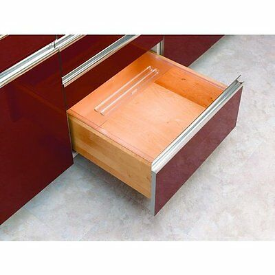 Rev-A-Shelf Bread Drawer Cover 20-1/8in Wide Translucent