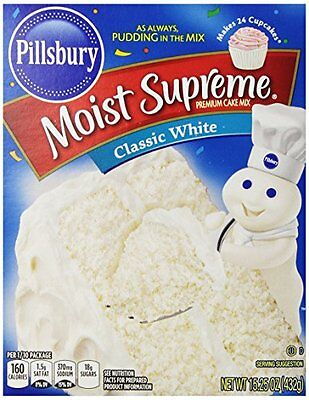 Pillsbury Cake Mix - Classic White - 15.25 oz