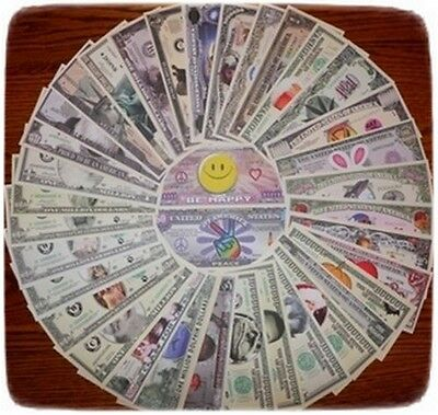 You Choose Your Favorite 35 Assorted Collectible Funny Money Novelty Notes !!