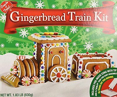 Create A Treat Create-a-Treat Gingerbread Ginger Bread Train