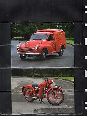 Post Office Heritage Fleet Postal Museum Postcard X4 From Collection A9