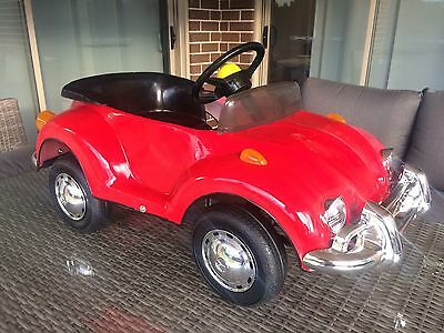 VW Beetle Pedal / Peddle  Car  - Never Used. Volkswagen Man Cave