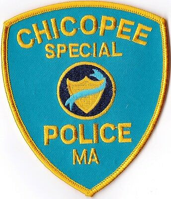 Chicopee Special Police Massachusetts patch NEW