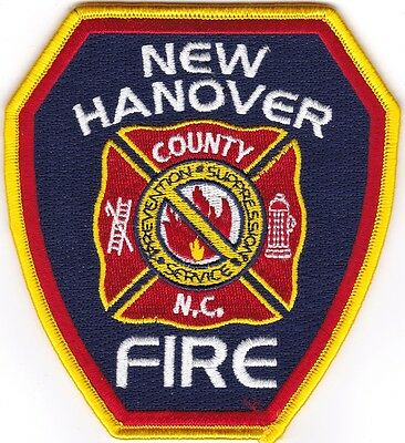 New Hanover County Fire North Carolina patch NEW!