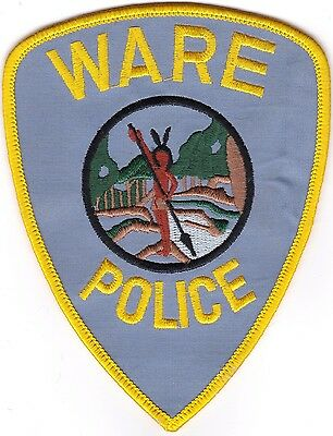 Ware Police Massachusetts old style Patch NEW