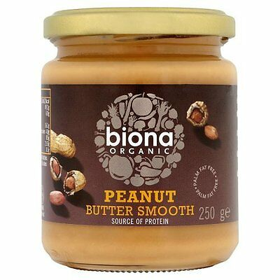 Biona Organic - Peanut Smooth Butter - 250g