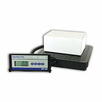 "Detecto DR400 Portable Digital Receiving Scale,12"" x 12"", 40"