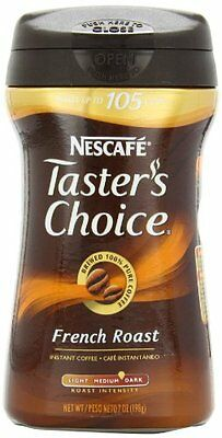 Nescafe Taster's Choice French Roast Instant Coffee, 7-Ounce