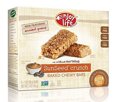 Enjoy Life SunSeed Crunch Baked Chewy Bars, 5 oz