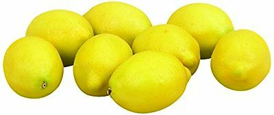 Deco 79 Lemon Gift Bag, 3 by 2-Inch, Set of 8
