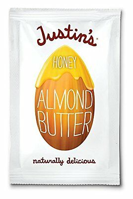 Justin's Almond Butter, Honey Squeeze Packs, 1.15 Ounce (Pac