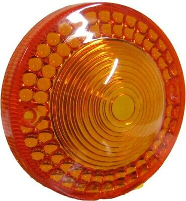 Yamaha RS 100 (Drum) (UK) 1977-1980 Indicator Lens Amber - Front Right (Each)
