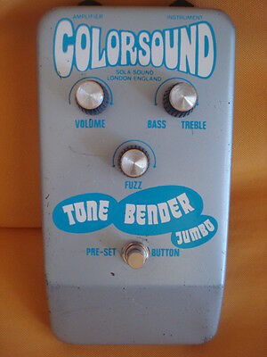 Colorsound Tone Bender Jumbo, superb conditions, 1976!