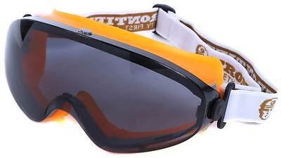 Frontier Safety Goggles Smoked Lens  New