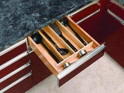"Rev-A-Shelf Utility Tray Insert 18-1/2"" Wide Wood"