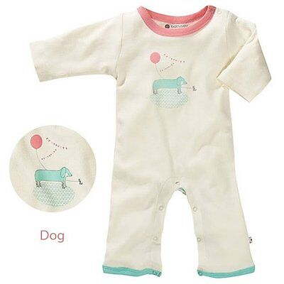 Organic Baby Soy Onepiece - Dog (6-12 Months)