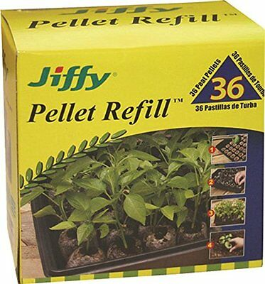 Jiffy 36mm Plant Pellet Refill 36 count