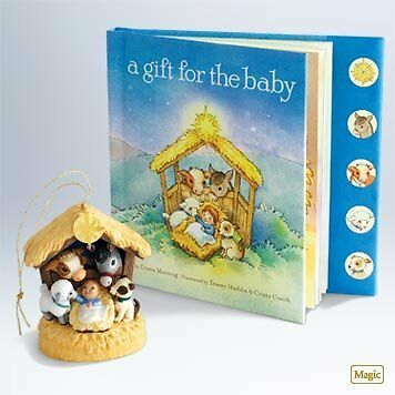 A Gift For The Baby 2011 Hallmark Ornament - QXG7583