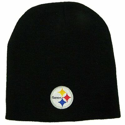 Pittsburgh Steelers Official NFL One Size Knit Beanie Hat