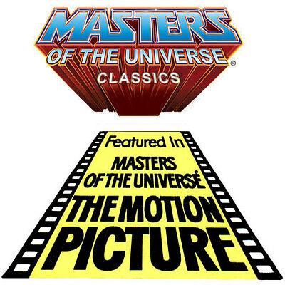 Masters of the Universe Classics The Motion Picture Set of 3 Toys BRAND NEW!