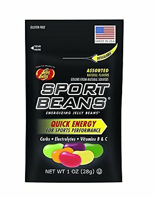 Jelly Belly, Sport Beans,  Assorted Jelly Beans, 1-Ounce (Pa